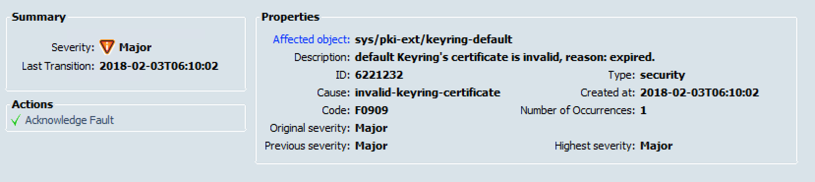 Regenerate Expired Cisco UCS Certificate – Virtual Building Blocks